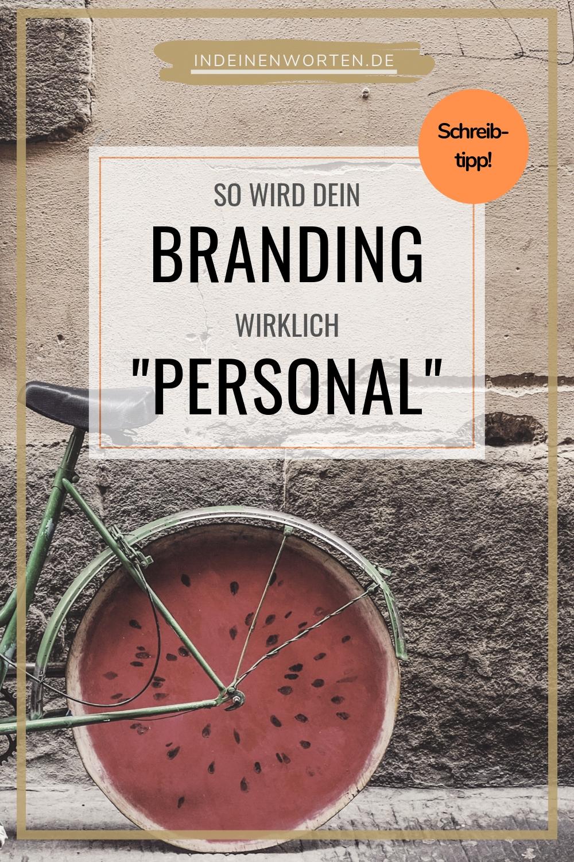 Personal Branding beginnt bei Texten mit Persönlichkeit. Tschüss, austauschbares Business-Sprech! So positionierst Du Dich einzigartig als Berater, Trainerin oder Coach. #indeinenworten
